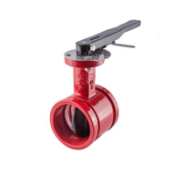 Manual Fire Safety Butterfly Valves