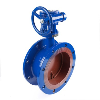 Gear-Operated Ventilation Butterfly Valves