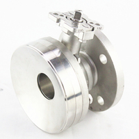 Stainless Steel Bottom Ball Valve No Head