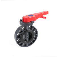Manual UPVC plastic Butterfly Valves