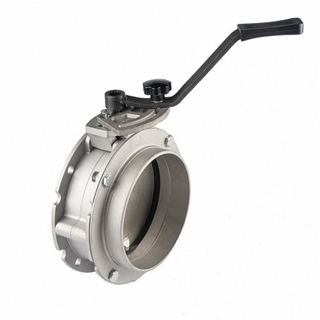 Manual Powder Butterfly Valves