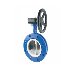 Gear-Operated U Type Butterfly Valves