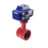 Electric Fire Safety Butterfly Valves