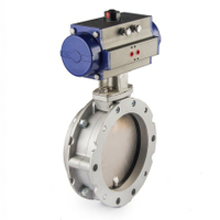 Pneumatic Powder Butterfly Valves