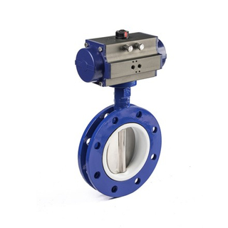 Pneumatic U Type Butterfly Valves