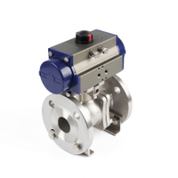 Pneumatic ANSI Flange Ball Valves