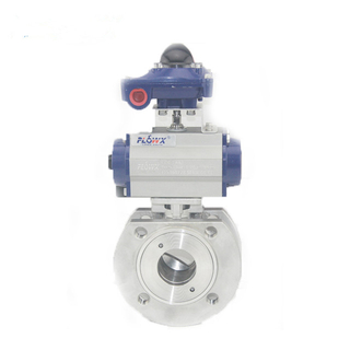 Pneumatic Thin Type Ball Valves