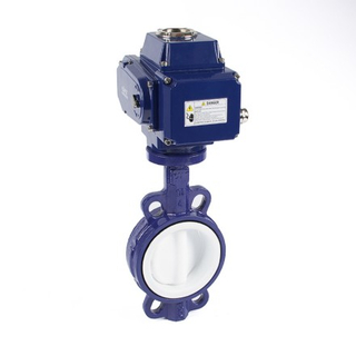 Electric Fully Lined Butterfly Valves