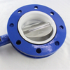 U Section Butterfly Valve Flange Connection 2 Inch