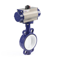 Epdm Lined Butterfly Valves Pn16 Europe