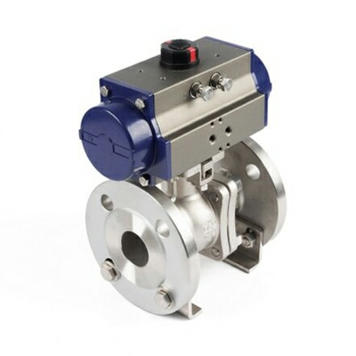 Pneumatic Double Acting Piston Ball Valve