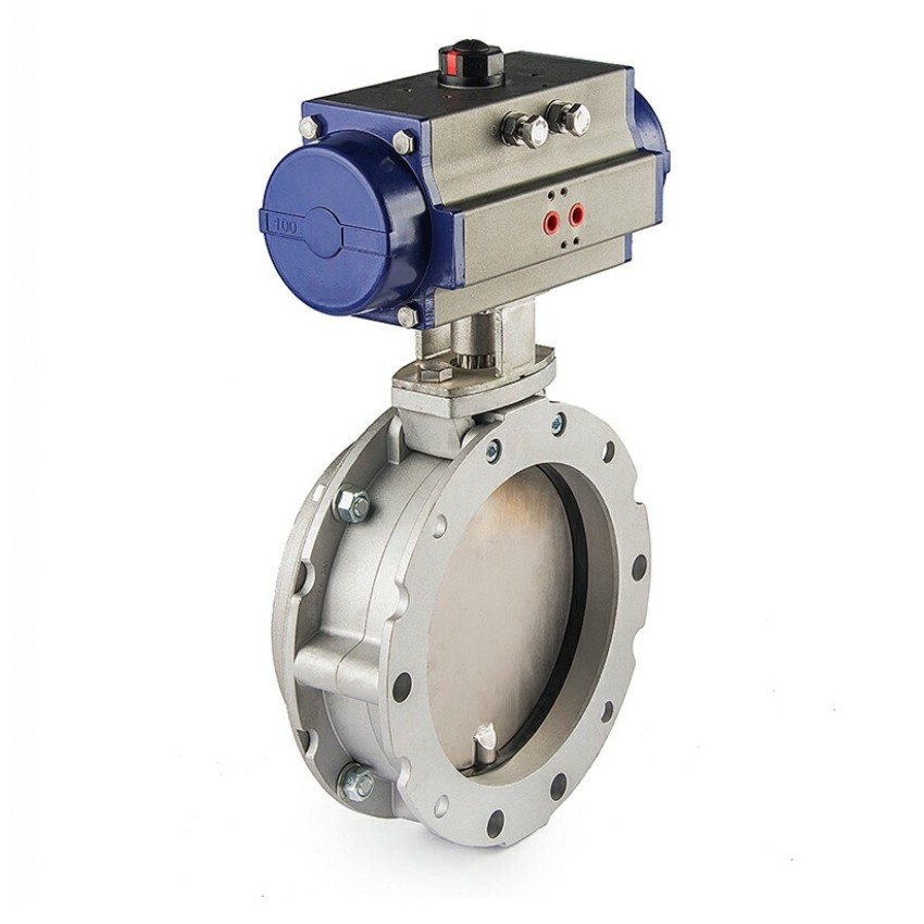 Pneumatic Butterfly Valve Leakage Study