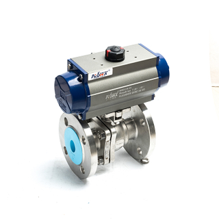 Pneumatic Ball Valve Italy Focus