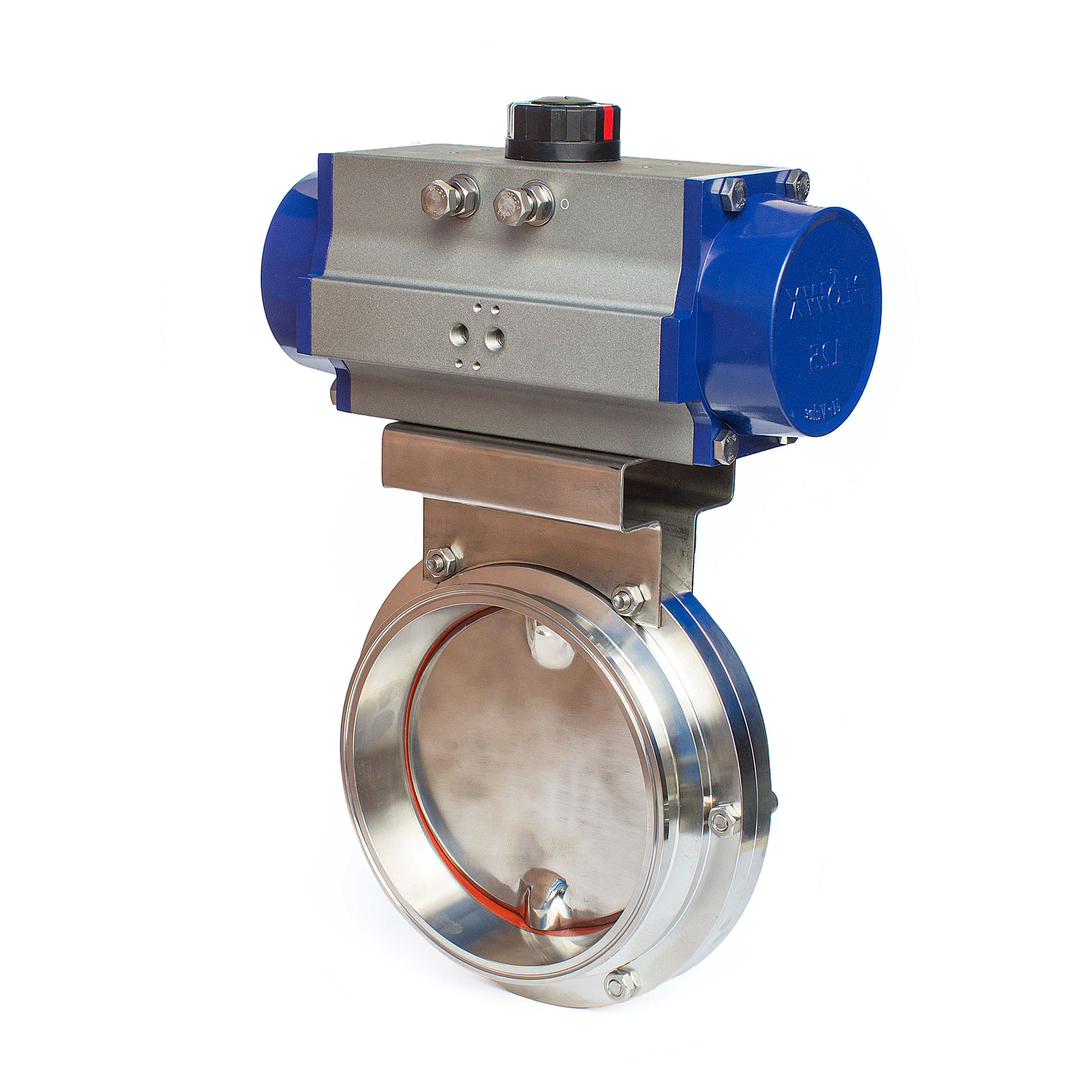 Pneumatic Actuated Sanitary Butterfly Valve