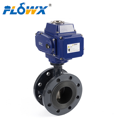 Electrically Actuated Flange Butterfly Valve