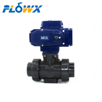 Electric Actuated Upvc Ball Valve